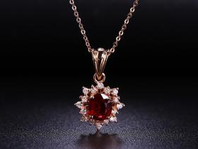 红宝石项链怎么保养?日常佩戴要注意些什么?