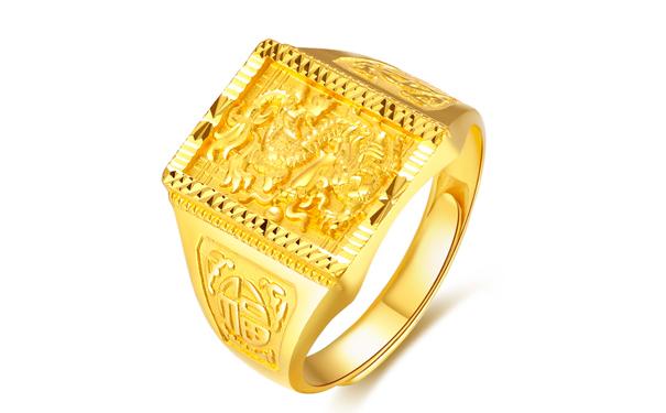 达州德西尔黄金戒指多少钱?
