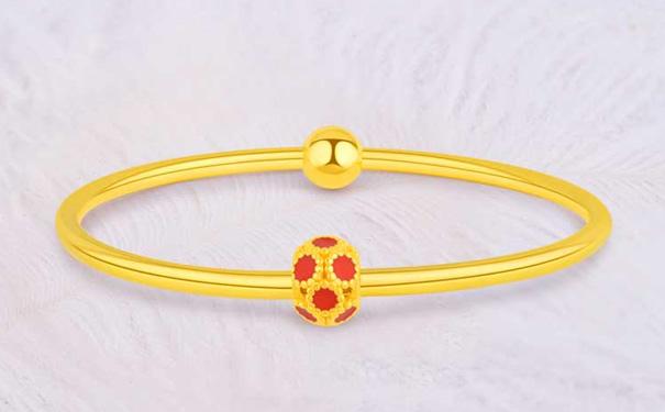 德西尔珠宝的黄金手镯一般有多少克?