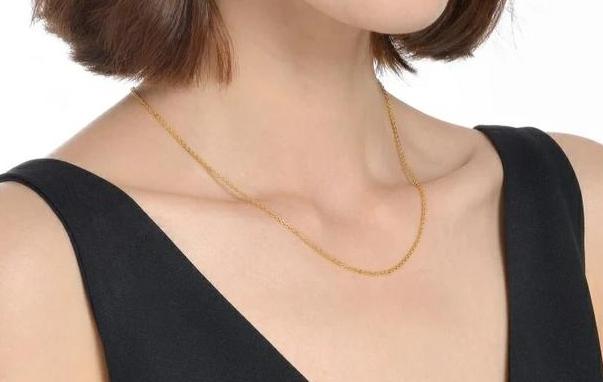 现在黄金什么价格,30岁适合戴什么黄金项链?