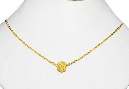 黄金项链一般多少克更适合佩戴?