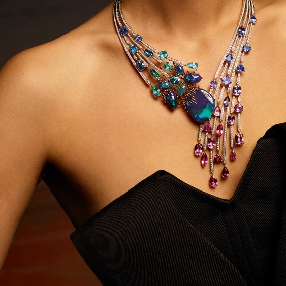珠宝要怎样戴才显得更加时尚?